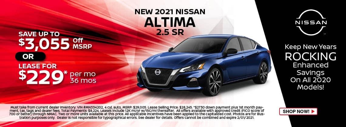 2021 Altima Lease $229/mo