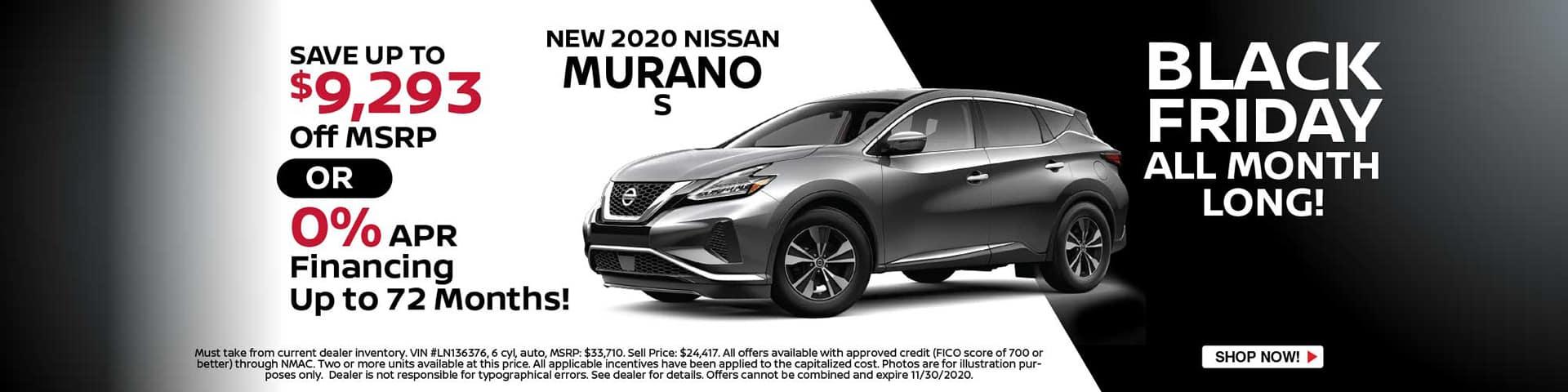 Nissan 2020 Murano S