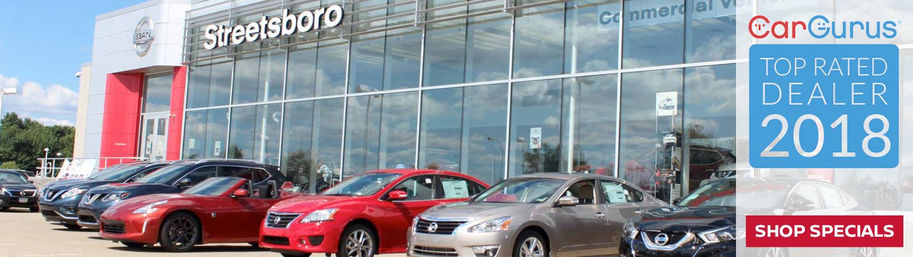 Nissan Of Streetsboro >> Nissan Of Streetsboro New Used Dealership Streetsboro Oh