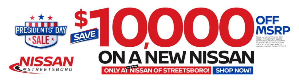 $10,000 OFF NEW NISSAN