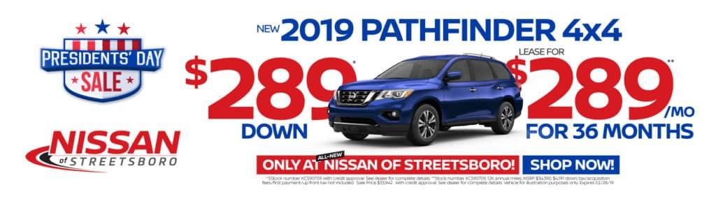 2019 Pathfinder $289