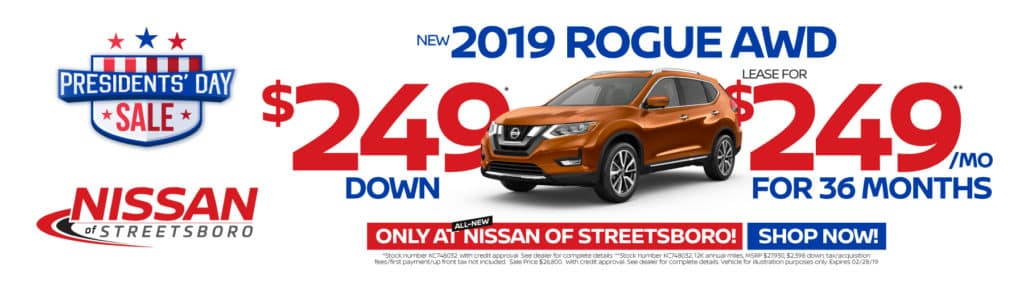 2019 Rouge AWD - $249