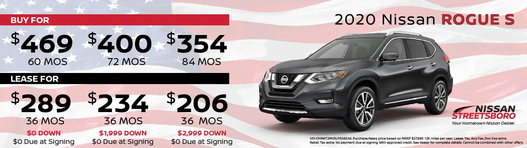 2020 Nissan Rogue Special