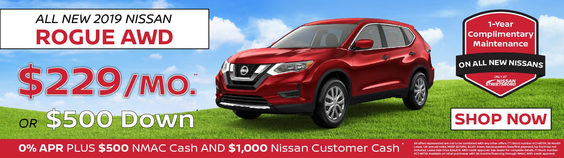 Nissan Rogue Special Ohio