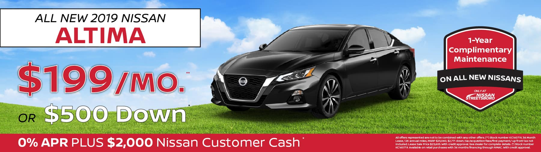 Nissan Altima Special Ohio