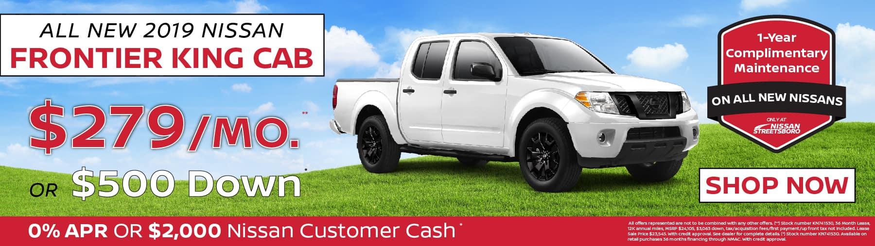 Nissan Frontier Special Ohio