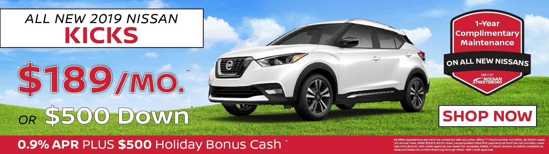 Nissan Kicks Special Ohio