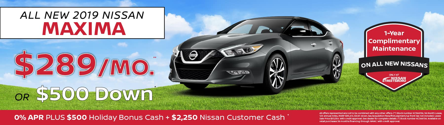 Nissan Maxima Special Ohio