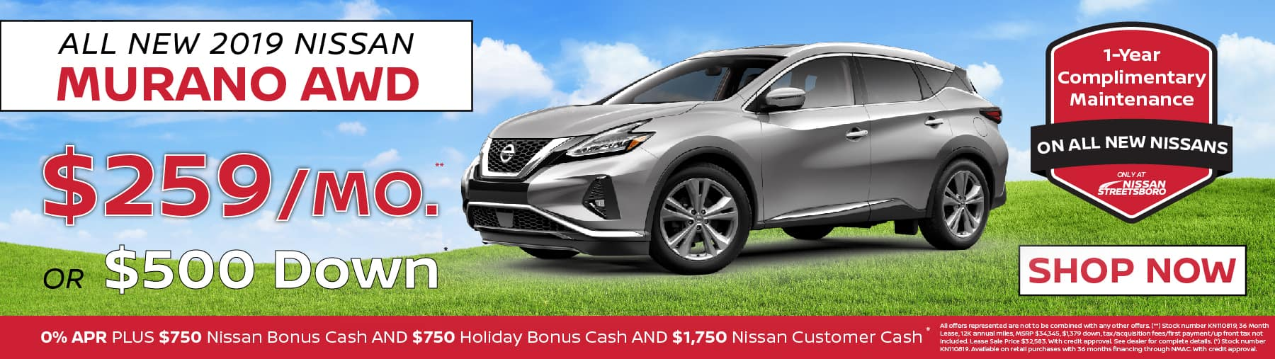 Nissan Murano Special Ohio