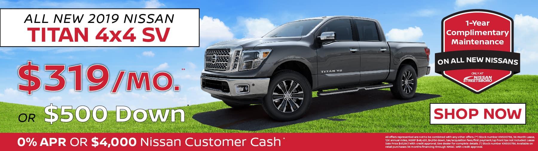 Nissan Titan Special Ohio