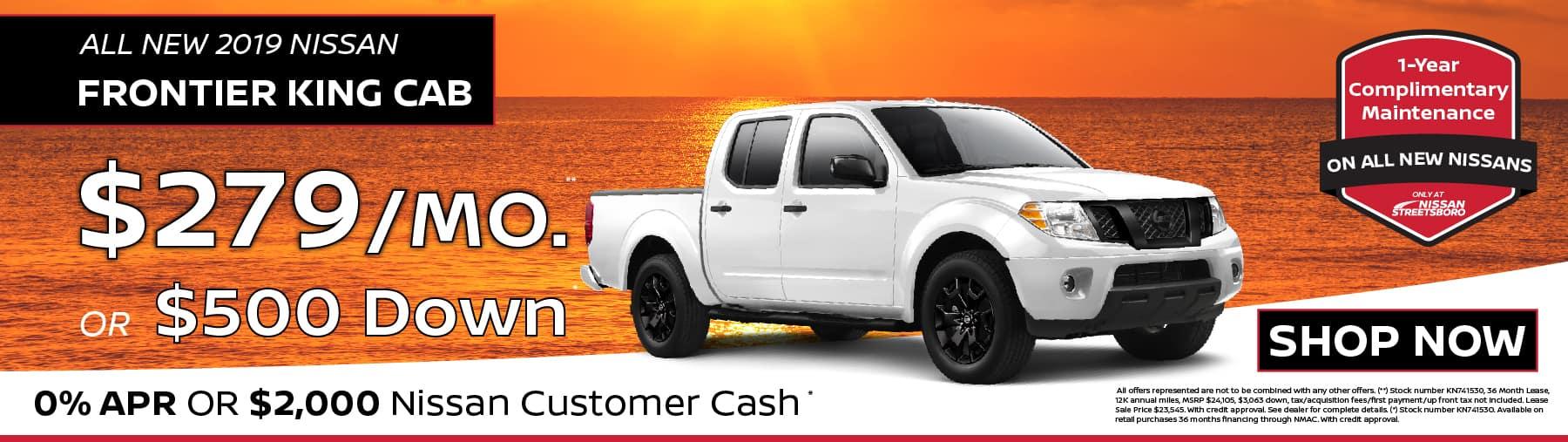 2019 Nissan Frontier Special