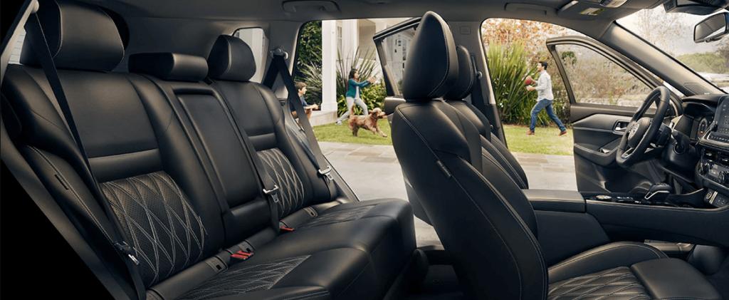 2021 Nissan Rogue Interior Seating Cutaway Image