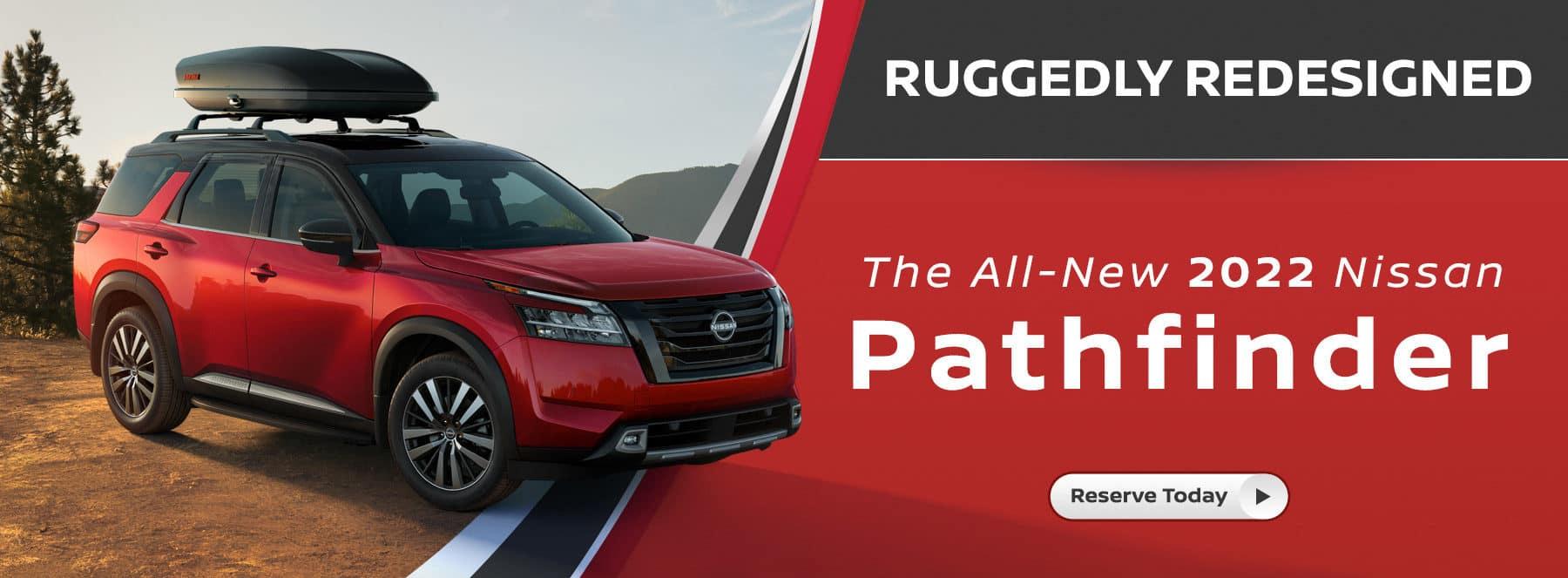 2022 Nissan Pathfinder Release Event Banner Image