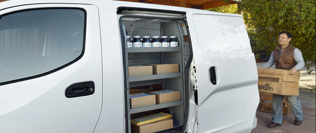 2021 Nissan NV Compact Cargo Van with Business Owner loading products