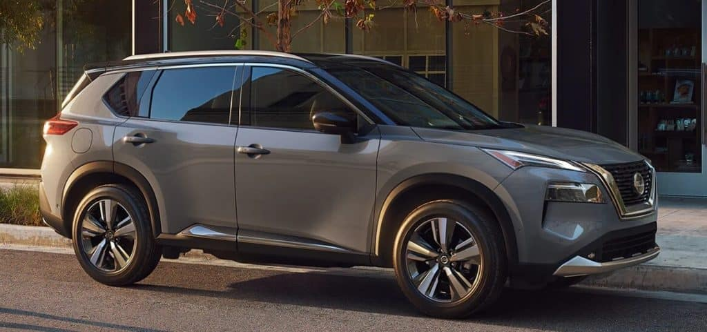 2021 Nissan Rogue Towing Banner Image