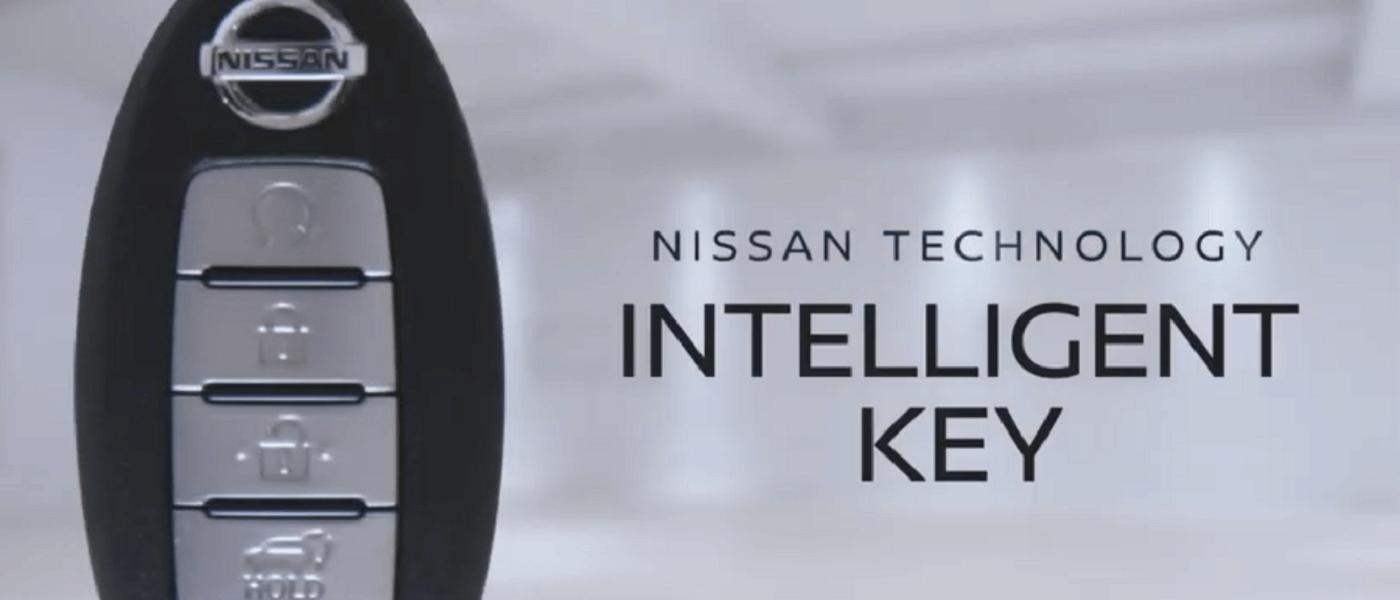 Nissan Intelligent Key Fob technology banner image