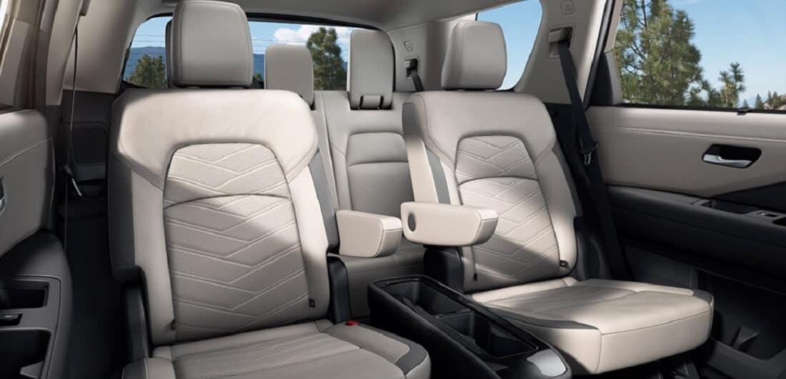 2022 Nissan Pathfinder Interior Seating Banner