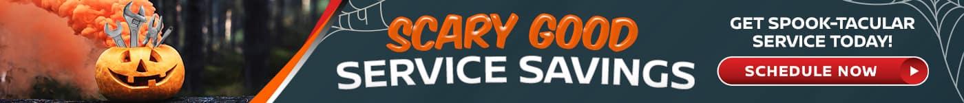 Scary Good Service Savings