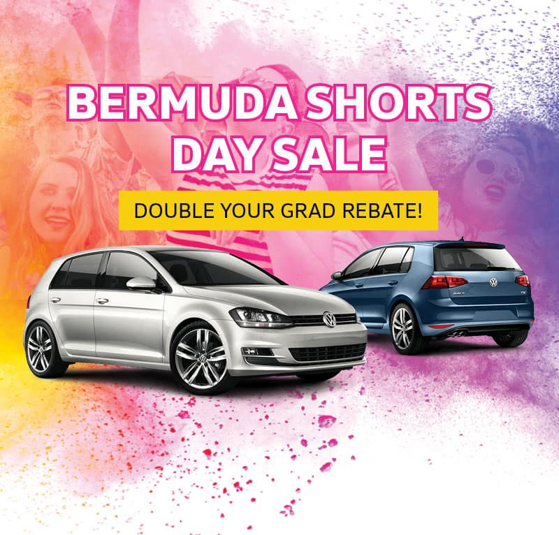 Bermuda Shorts Day Sale