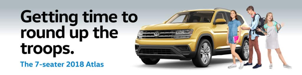 Back to school with the VW Atlas