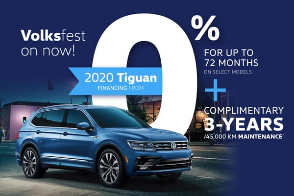 Tiguan Offer - Volksfest on now