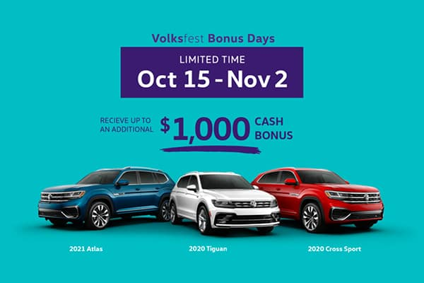 Volksfest Bonus Days   Limited Time Oct 15 - Nov 2