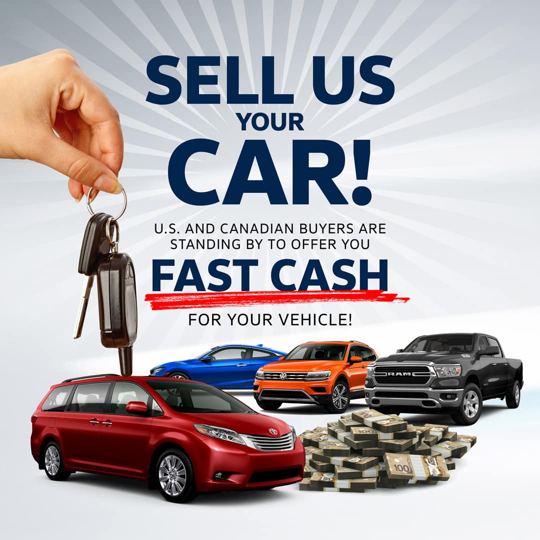 We will buy your vehicle