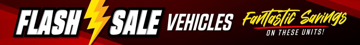 Flash Sale Vehicles