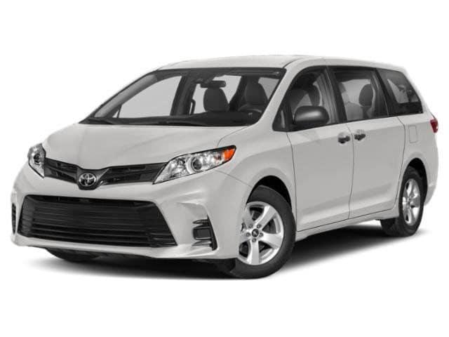 New 2019 Toyota Sienna LE 8 Passenger FWD Minivan