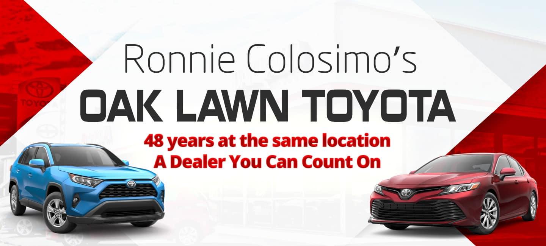 Toyota Dealers Near Me >> Oak Lawn Toyota Toyota Dealer In Oak Lawn Il