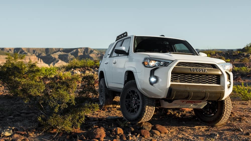 2019 4Runner TRD Pro off-roading