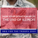 HOW YOUR DONATION Helps the USO of Illinois
