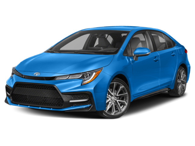 2020 Toyota Corolla XSE CVT (SE)
