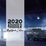 2020 4Runner Nightshade Edition