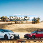 TRD Lineup Camry Avalon
