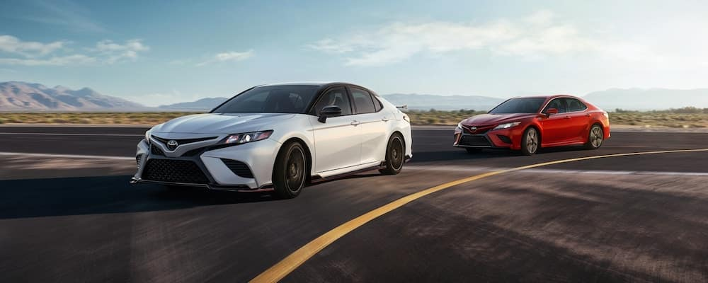 2020 Camry TRD models on the road