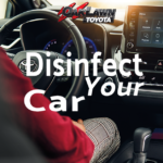 Oak Lawn Toyota disinfects your car at every service visit.