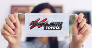 Oak Lawn Toyota Customers are Required to Wear a Mask or Face Cloth Covering