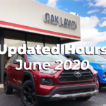 Updated Hours June 2020 Oak Lawn Toyota