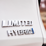 2021 Sienna Limited in White Hybrid Emblem