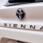 2021 Sienna Limited with Toyota emblem