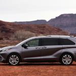 2021 Toyota Sienna Platinum Grey