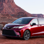 2021 Toyota Sienna XSE in Red