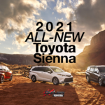 2021 Toyota Sienna all new