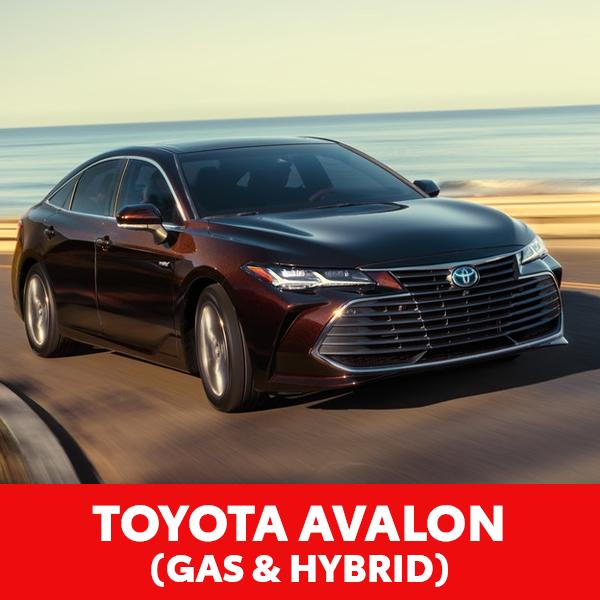 Toyota Avalon (Gas & Hybrid)