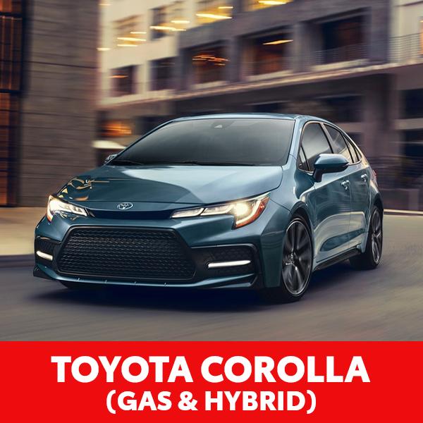 Toyota Corolla (Gas & Hybrid)