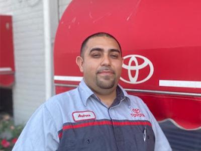 Andres Rivera - Parts Associate