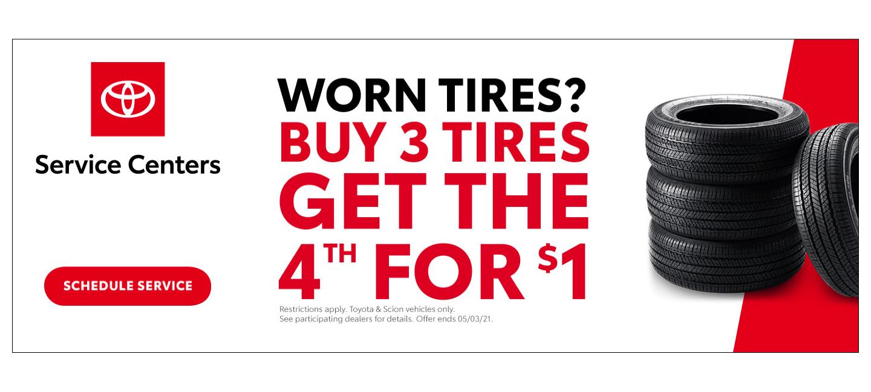 Toyota Tire banner