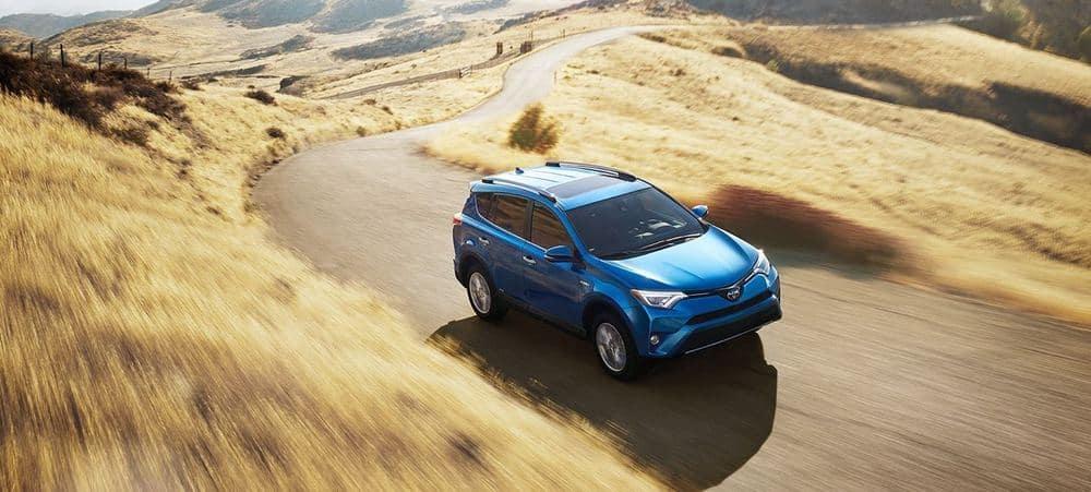 2018 Toyota RAV4 Desert driving