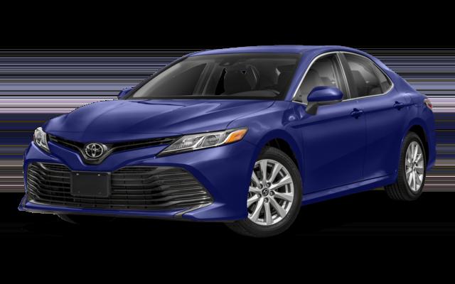 Blue 2019 Toyota Camry